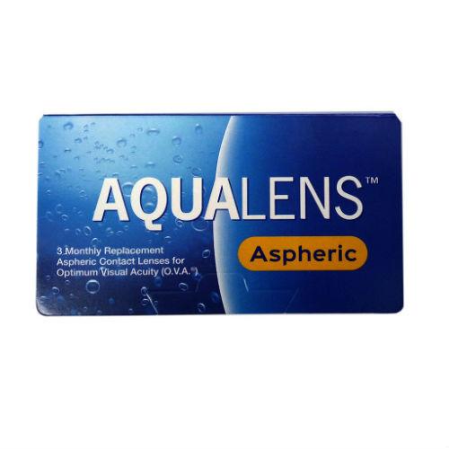 AquaLens Aspheric Μηνιαίοι - 3 φακοί επαφής