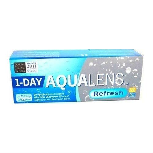 ΑquaLens Refresh 30 φακοί επαφής-1 day