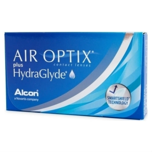 17cd664971 Alcon Air Optix Plus Hydraglyde Μυωπίας Μηνιαίοι 3pack