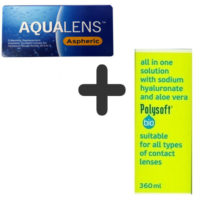 AquaLens Aspheric + Polysoft 360 ml