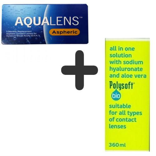 AquaLens Aspheric + Polysoft 360 ml