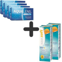AquaLens Oxygen Plus (4 κουτιά) + 2 Aquasoft 380ml