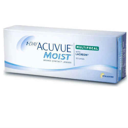 Acuvue Moist 1-Day Multifocal (30 φακοί)