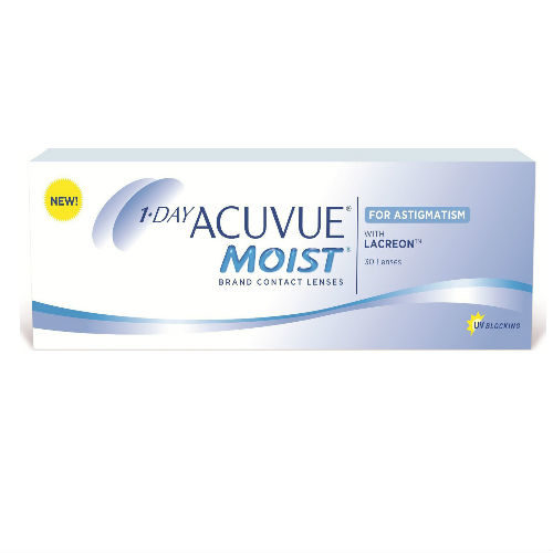 Acuvue Moist 1-Day for Astigmatism (30 φακοί)