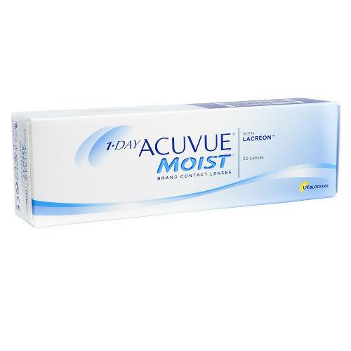 Acuvue Moist 1-day Μυωπίας-Υπερμετρωπίας (30 φακοί)
