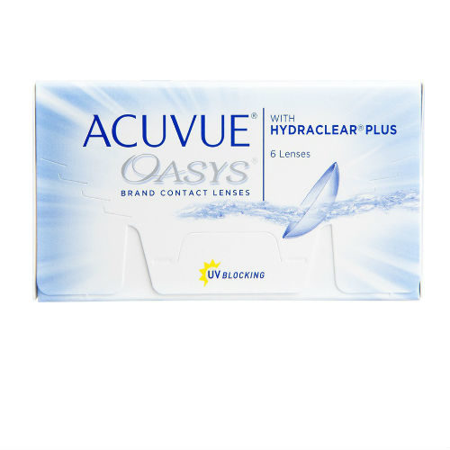 Acuvue Oasys with Hydraclear plus Μυωπίας-Υπερμετρωπίας Δεκαπενθήμεροι 6pack