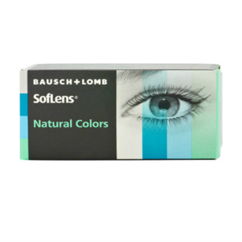 Bausch & Lomb SofLens Natural Color Μηνιαίοι (2 φακοί)