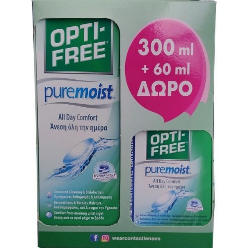 Alcon Opti-Free PureMoist 300ml + 60ml
